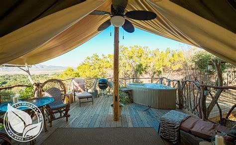 safari tent camping  california glamping  california