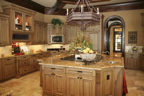 11 Luxurious Traditional Kitchen Ideas by Kitchen With River Gold Granite Luxurious Accent Homesfeed