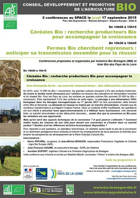 chambre agriculture pays de la loire ibb céréales bio recherche producteurs bio pour
