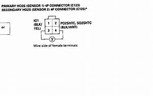 99 Cx Primary O2 Sensor Wiring - Honda-tech