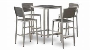 Chaise Pour Table Haute : table et chaise haute pour cuisine ~ Teatrodelosmanantiales.com Idées de Décoration