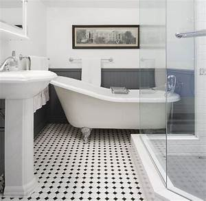 black and white bathroom gorgeous inspirations With black and white bathroom tile design ideas