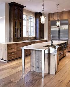 13 fresh kitchen trends in 2014 you must see freshomecom With 4 materials rustic kitchen cabinets