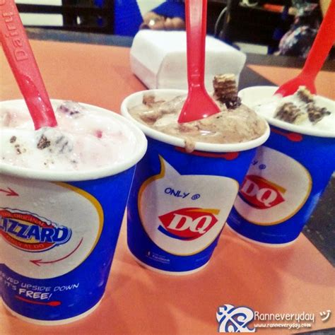 Dairy Queen - food review dairy queen loacker blizzards ranneveryday