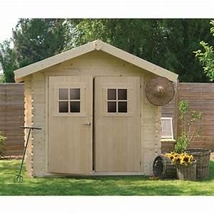 Abri de jardin bois 28mm 7,53m² utiles Achat / Vente abri jardin chalet Abri de jardin bois