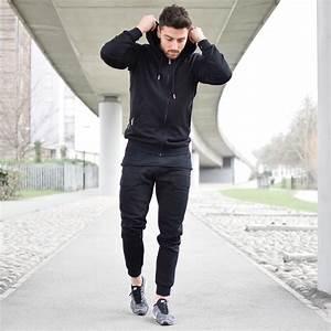 Black Gym Jogging Bottoms - Vascular Wear