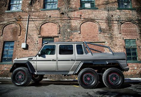 Mercedes 6x6 Usa by Mercedes G 63 Amg 6x6 Arrives In The Us Gtspirit