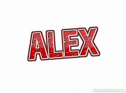 Alex Logos Text Font Flamingtext