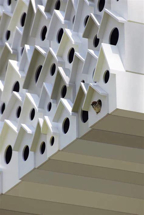 bird apartment treehouse nendo designapplause