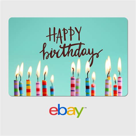 ebay digital gift card birthday designs email delivery