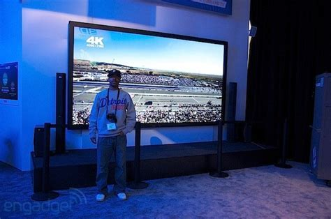Panasonic's 152 inch 4K resolution 3D plasma ships this fall