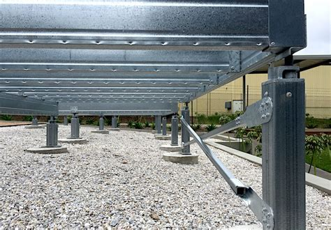 Spantec Steel Floor & Roof Frame Systems; Bearers, Joists