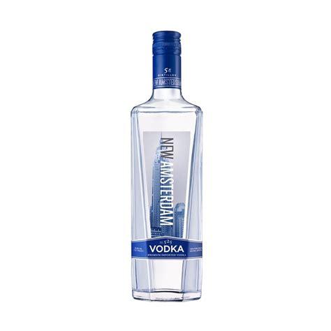 new amsterdam vodka new amsterdam vodka 750ml armanettis beverage mart