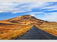 Steptoe Butte This road leads to a wondrous view of the