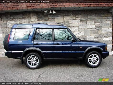 blue land rover discovery 2003 land rover discovery se in oslo blue photo no