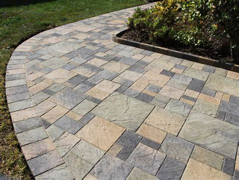 enhance your home with square concrete pavers