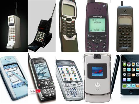 cell phone history timeline timetoast timelines