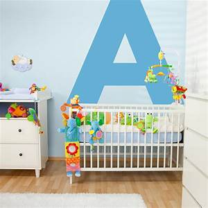 image gallery letter wall stickers With giant letter wall decals