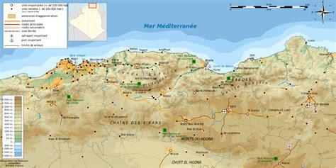 Carte Villes Maroc Détaillée by Fichier Kabylie Topographic Map Fr Svg Wikip 233 Dia