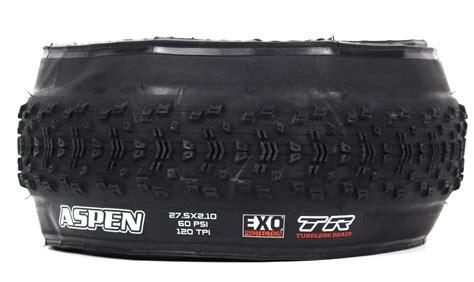 vtt tubeless ou chambre à air pneu maxxis aspen exo protection dual 62a 60a
