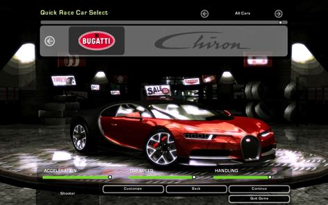 Undercover as a tier 1 vehicle with a $375,000 price tag. Need For Speed Underground 2 Bugatti Chiron | NFSCars