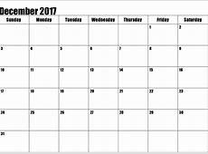 Calendar December 2017 Full HD Calendar And Images