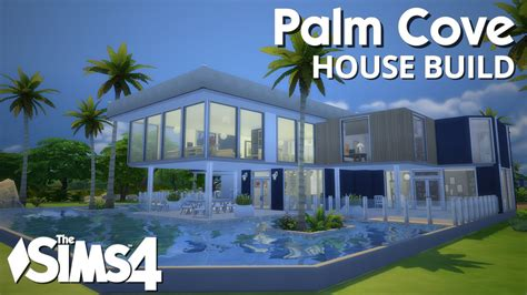 free modern house plans the sims 4 house building palm cove w simified