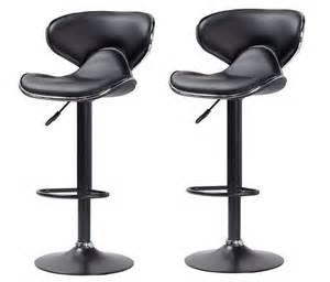 tabouret de bar noir cobra chaise de bar tabouret de bar topkoo