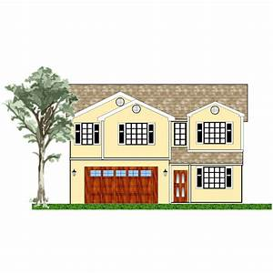 house, exterior, plan