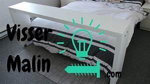 Table Pour Lit : comment fabriquer une table de lit sur roulette table d ~ Dode.kayakingforconservation.com Idées de Décoration
