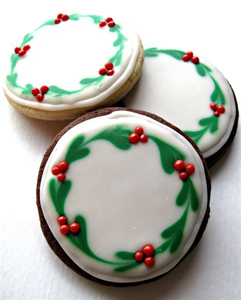 chocolate covered oreos  iced christmas sugar cookies