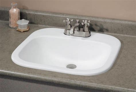 Drop In Sink Bathroom by Various Models Of Bathroom Sink Inspirationseek