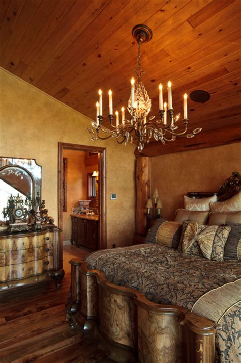 awesome log cabin rustic bedroom dallas  passion