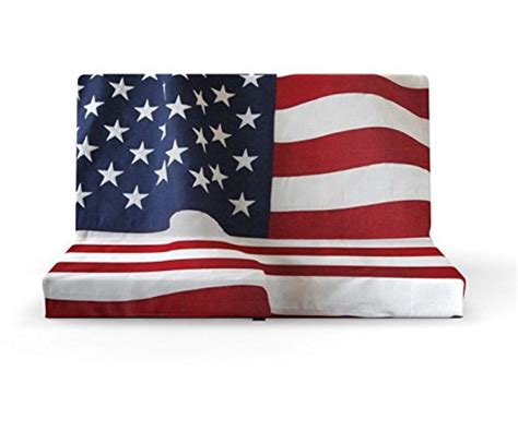 seat cushion foldable american flag used look dimensions