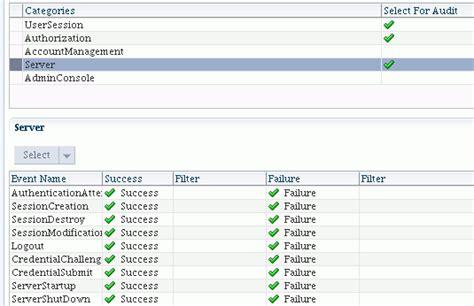 Configuring Managing Auditing