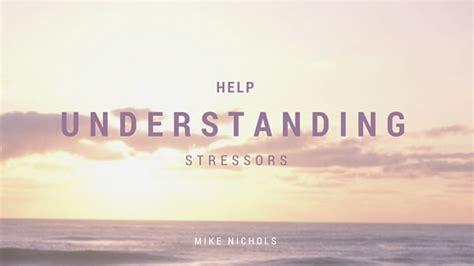mike nichols thornbury understanding stressors personal training mike nichols
