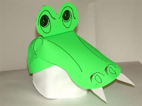 paper arlie  alligator hat pattern
