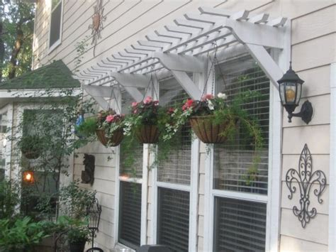 Wood Awnings For Homes by Remodelaholic 25 Inspiring Outdoor Window Treatments