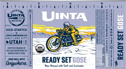 Image result for uinta ready to gose ratebeer