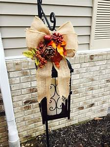 Fall, Decorating, Shepherds, Hook, With, Lantern, For, Outdoor, Lighting
