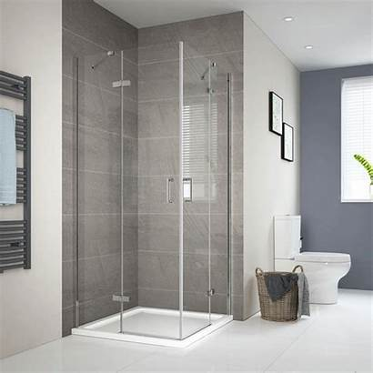 Shower Frameless Glass Door Enclosure Corner 6mm