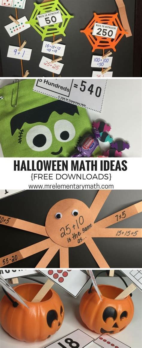 fun halloween math activities  images fun