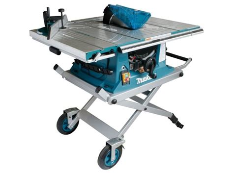 Makita Tile Table Saw by Makita Mlt100x 240v 260mm Table Saw And Stand