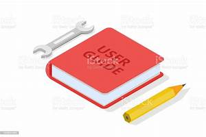 User Manual Guide Instruction Guidebook Handbook Isometric