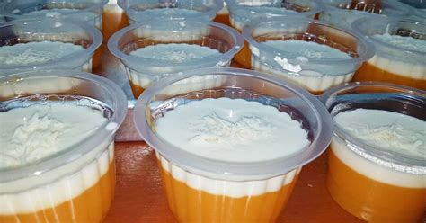 Resep puding sutra buah sirup jeruk lembut lumer di mulut. 47 resep puding mangga vla keju enak dan sederhana ala ...