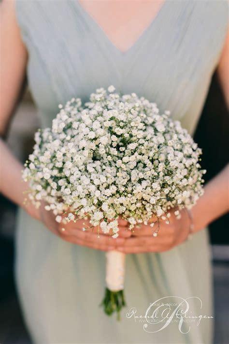 wedding flowers  ideas   babys breath