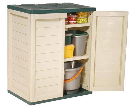 garden indoor outdoor garage storage low utility cabinet