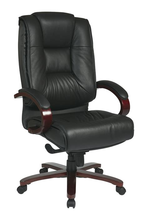 High Back Leather deluxe high back executive leather chair 321 99