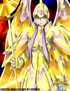 Athena - Saint Seiya Omega by DSisifo on DeviantArt