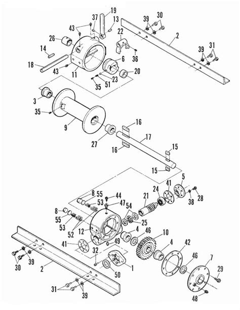 611 612 hydraulic winch